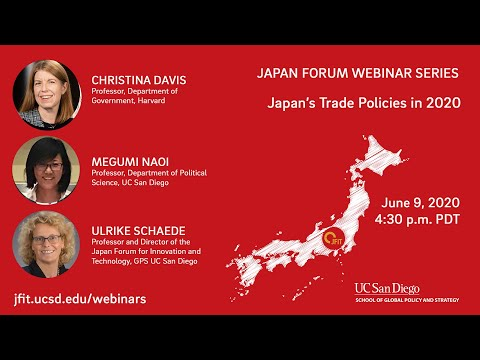 Japan's Trade Policies In 2020