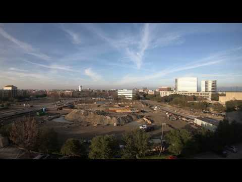 4K test. Construction work in Dallas