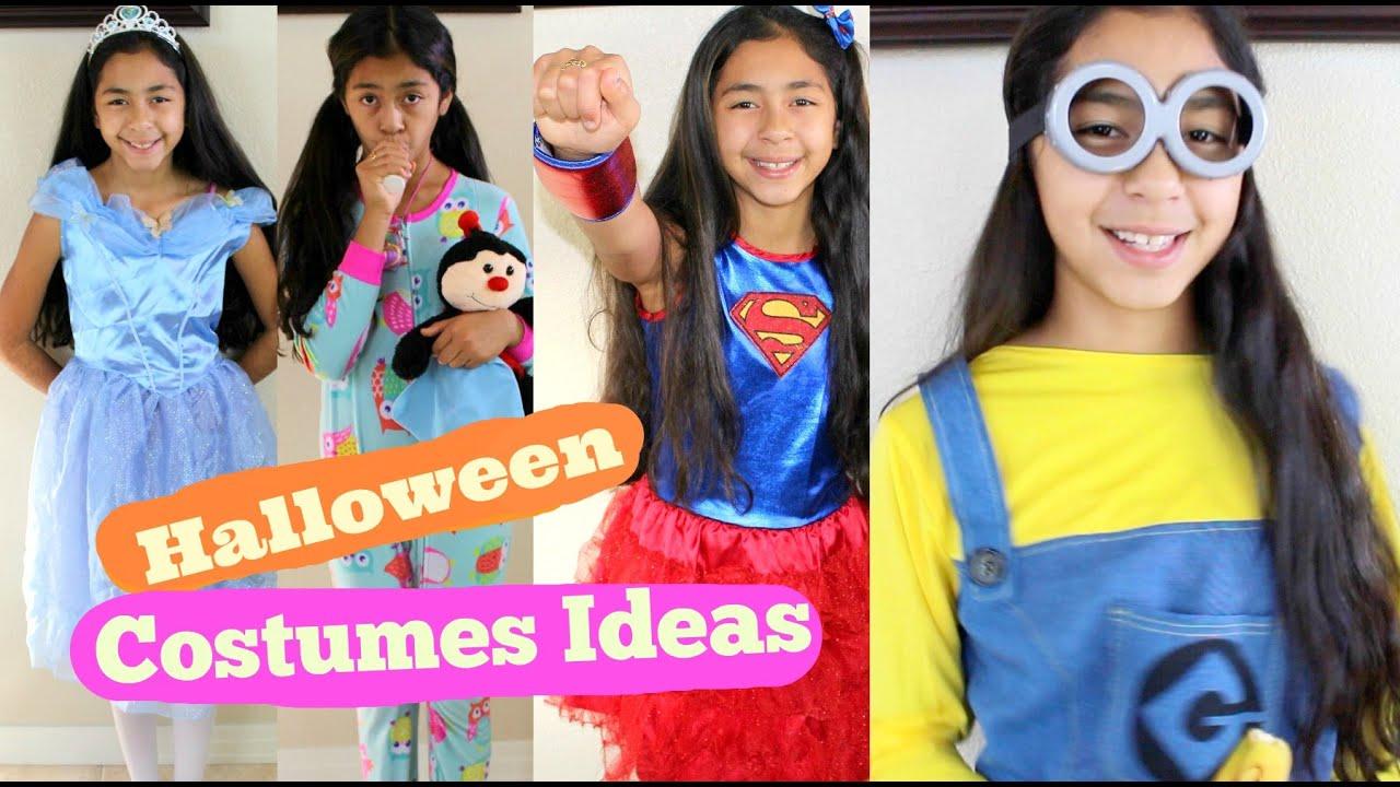 halloween costumes ideas cinderella super girl snow white minion rainbow youtube