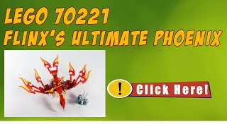 LEGO 70221 Flinx's Ultimate Phoenix - Speed Build LEGO Chima 70221