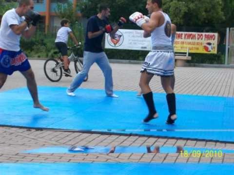 Fight Club Fano Manifestazione Arti Marziali Muay Thai Difesa Personale S.Orso Fano 18/09/2010