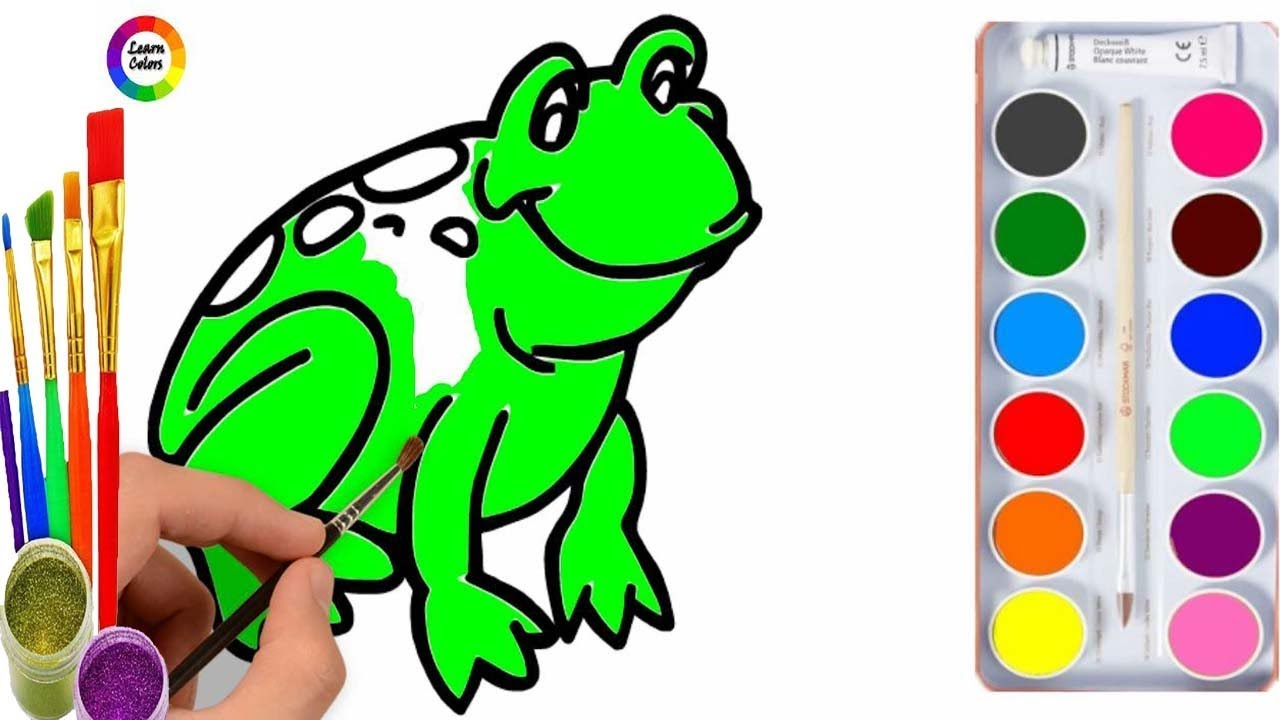 Learn Colors And Coloring Pages For Kids ! Learn Colors For Kids ...