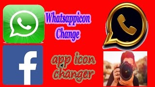How to change your WhatsApp into WhatsApp Gold (Change App Icon And Name)