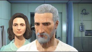 Создаём персонажа в Fallout 4 [ Геральт ]