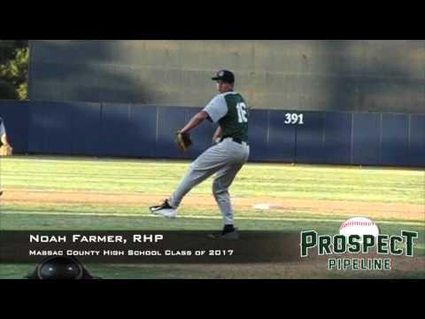 Noah Farmer, RHP, Massac County High School, Pitching Mechanics at 200 FPS