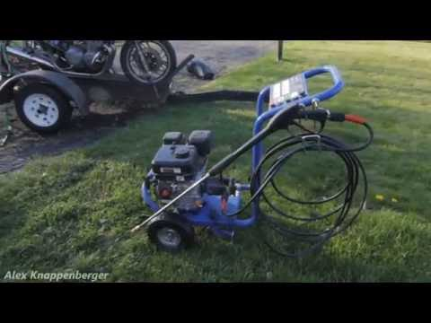 Harbor Freight 3GPM Gas Pressure Washer Review ✔