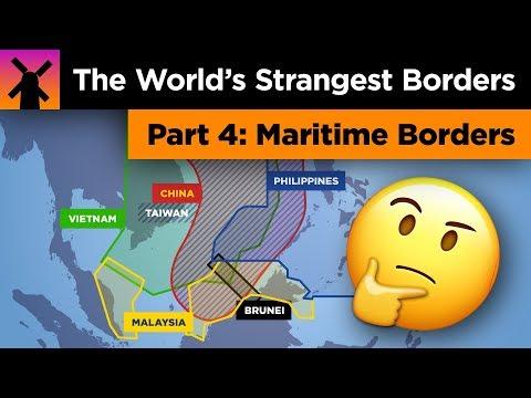 The World's Strangest Borders Part 4: Ocean Madness