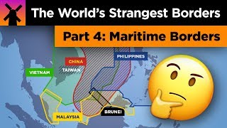 The World's Strangest Borders Part 4: Ocean Madness