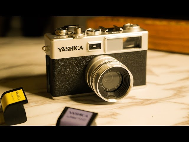 Yashica Y35 Review and Sample Photos | unboxing