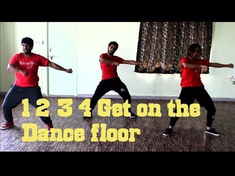 1234 Get on the Dance Floor  Choreo NISARG  Dance Studio MJ   Shahrukh Khan  Bollywood Batch