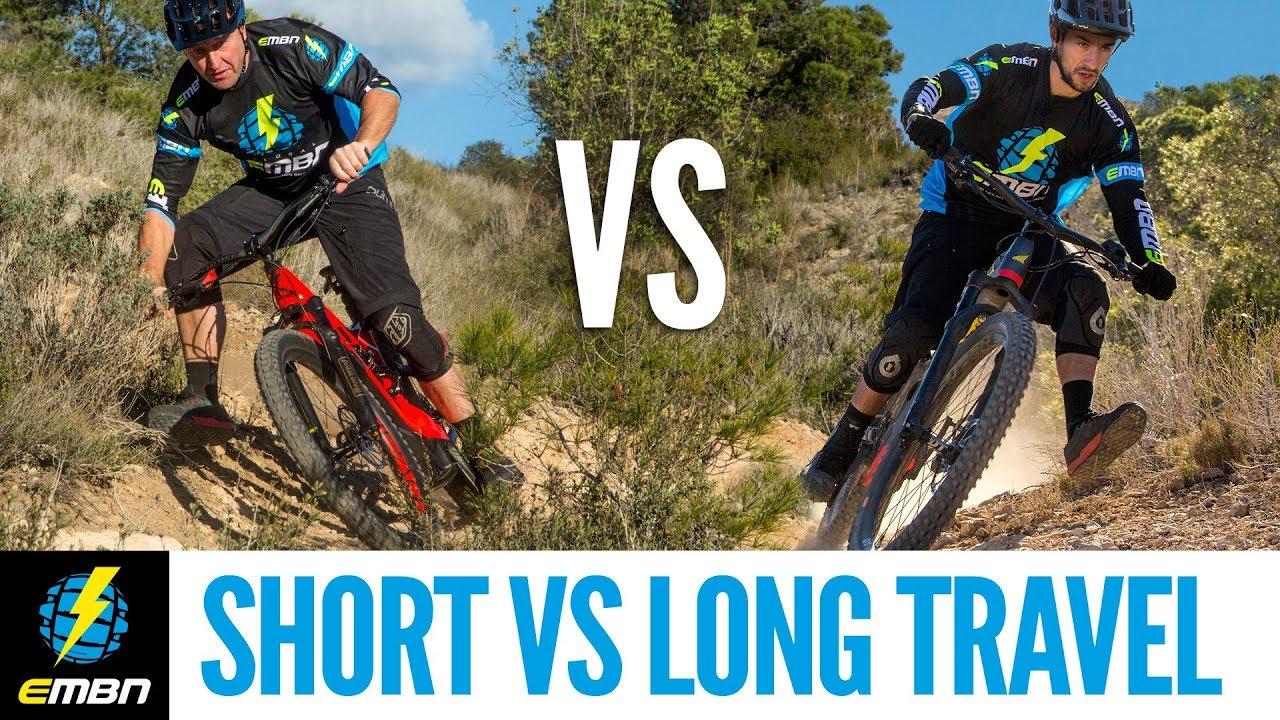 c52ba233d16 Short Travel Vs Long Travel E Mountain Bike | Which Should You Choose?