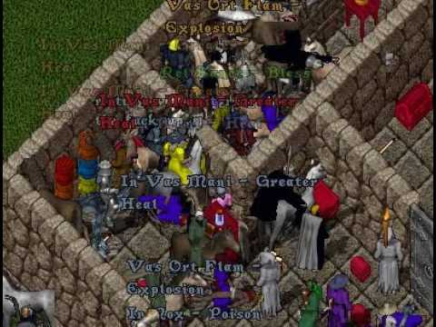 Ultima Online Napa Valley Shard, Adam Ant Quest at Oc'Nivelle