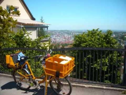 Deutsche Post DHL - Briefzustellung ohne Briefträger (Haigst Stuttgart)