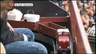 Lehmann Train In German Football VIP Lounge