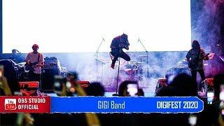 Tak Lagi Percaya - GIGI Band Live DIGIFEST 2020 Makassar