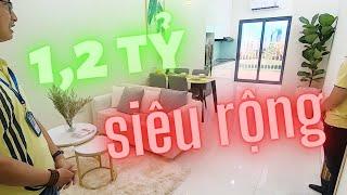 Thiết kế chuẩn nhà mẫu 51,34m2 2 phòng ngủ dự án căn hộ Park View, Thuận An, Bình Dương ✔