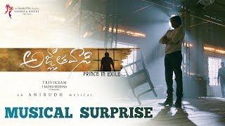 Agnyaathavaasi Musical Surprise - Pawan Kalyan | Trivikram Srinivas | Anirudh Ravichander | #PSPK25