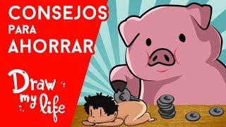 TRUCOS FÁCILES para AHORRAR - Draw My Life en Español