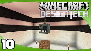 DesignTech - Ep. 10: Enderman Spawner   Minecraft Custom Modpack Let's Play