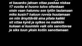 PiiloVoima - Luokse enkeleiden Lyrics