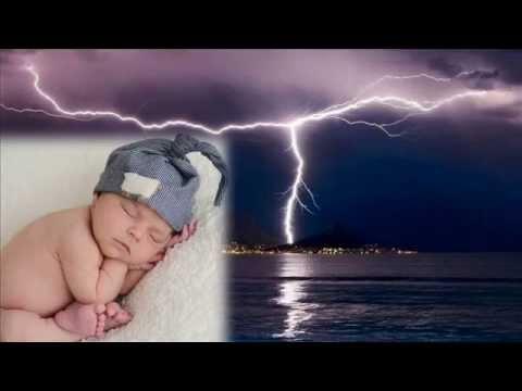 Déšť a hrom - Zvuky pro hluboké spaní miminko