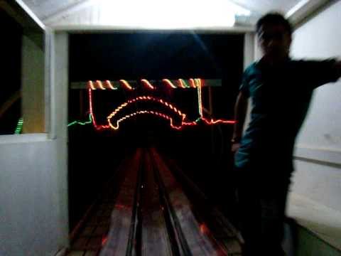 Shnglbana Roller Coaster riding at Night in Pank-Rawanduz