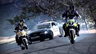 Погоня Полиции за двумя Мотоциклистами