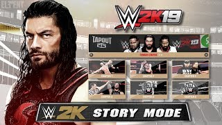WWE 2K19 Demo - Story Mode Paths - Age of Orton, Roman Empire - PS4/XB1 Gameplay Prototype