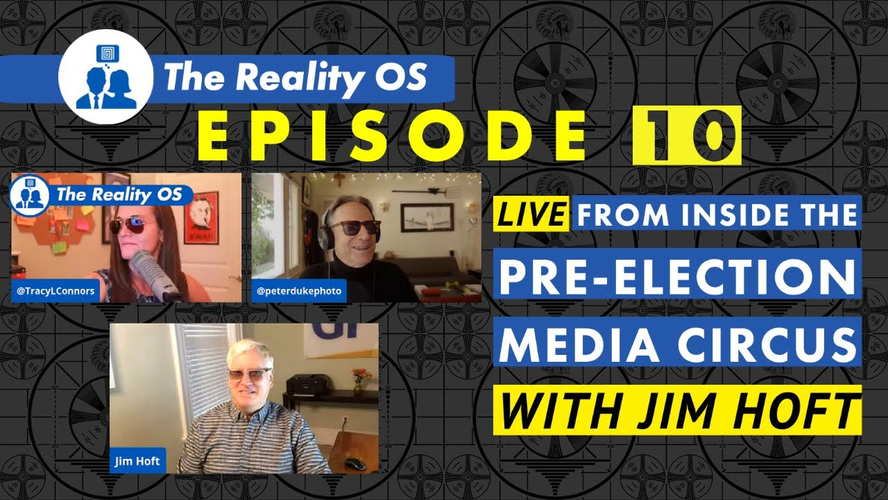 Live from Inside the Pre-Election Media Circus with Jim Hoft of The Gateway Pundit