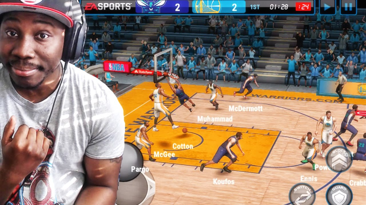 NBA Live Mobile 16 Gameplay - DAILY GRIND! HOW TO SCORE