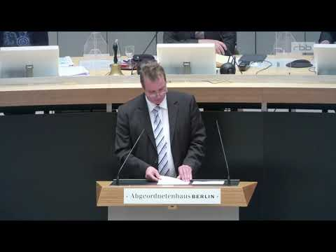 Plenarrede gegen das Landesantidiskriminierungsgesetz