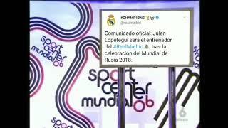 Lopetegui se desmaya con el comunicado del Real Madrid