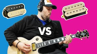 Wilkinson MWHZ humbuckers vs DiMarzio vs Gibson guitar pickup comparison Who wins? [BiasFX2]