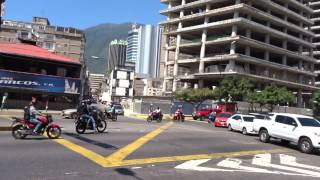 Walking in Caracas, Venezuela