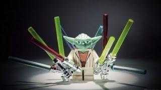 Лего Звездные войны! Lego Star Wars! Меч Джидая! Эпизод 1! Предисловие! Смотреть Лего!