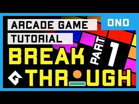 Breakthrough (DnD Tutorial Part 1/2) - GameMaker Studio 2