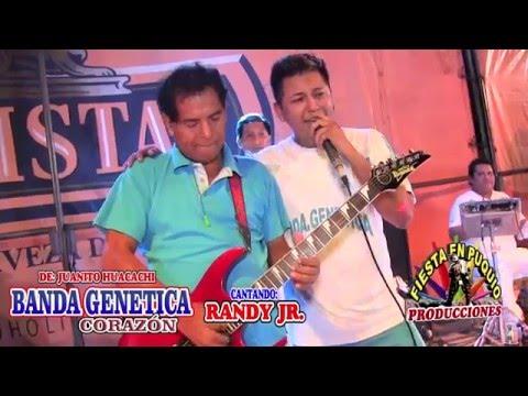 BANDA GENETICA EN CONCIERTO JUANITO HUACACHI CANTA RANDY JR.