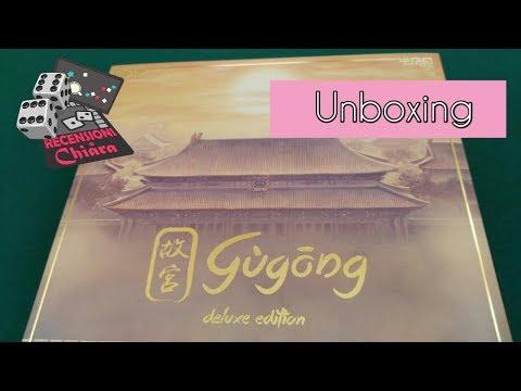 Gugong - Unboxing di Chiara (giochi da tavolo)