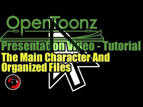 Opentoonz Tutorial How To Make An Animated Presentation 6