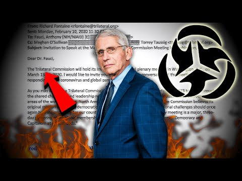 Bombshell: Dr. Fauci Flip-Flopped On Masks AFTER MEETING WITH THE TRILATERAL COMMISSION (Turn on CC)