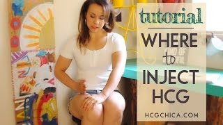 Where to Inject hCG - Injection Sites