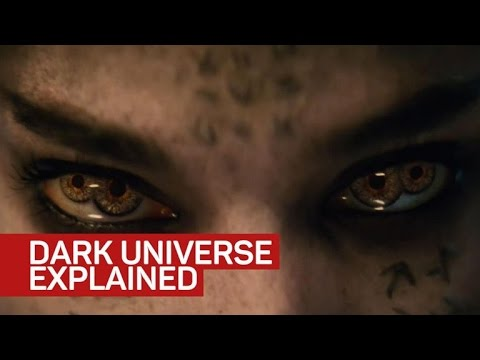 Dark Universe explained by 'The Mummy'...