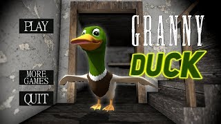 Granny BECOMES A DUCK!!! (Pond House) | Granny The Mobile Horror Game (Mods)