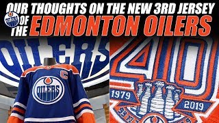Our Thoughts on the New Edmonton Oilers 3rd Jersey