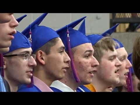 Watertown Mayer High School 2018 Graduation. Howard Simar Vlog #64