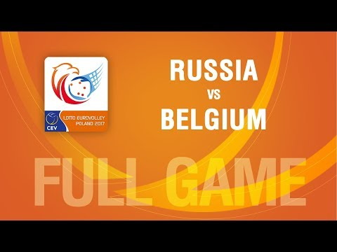 Russia vs Belgium | SEMIFINALS | LOTTO EUROVOLLEY POLAND 2017