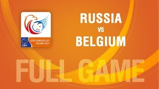 Russia vs Belgium | SEMIFINALS | LOTTO EUROVOLLEY POLAND 2017