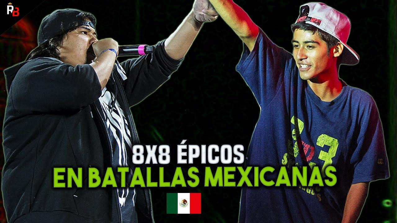 8x8 ÉPICOS EN BATALLAS MEXICANAS | Ep. 1
