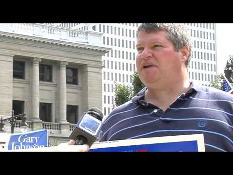 Libertarians hold rally in downtown Toledo