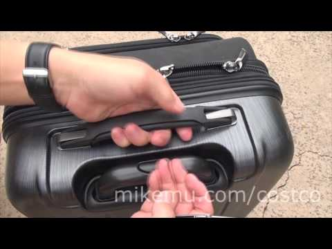 Costco Kirkland Signature 4 Wheel Hybrid Roller Bag Overview
